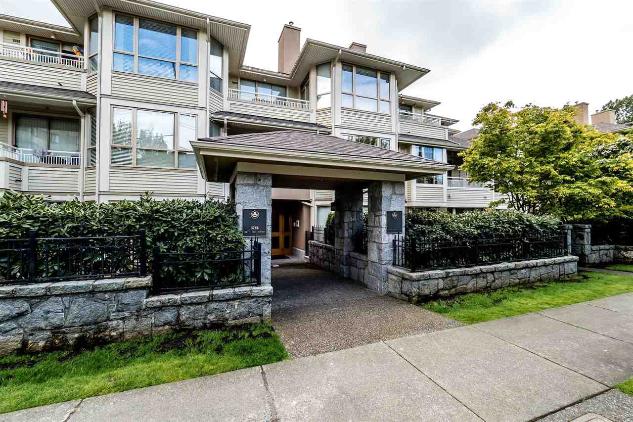 """Main Photo: 209 3766 W 7TH Avenue in Vancouver: Point Grey Condo for sale in """"THE CUMBERLAND"""" (Vancouver West)  : MLS®# R2190869"""