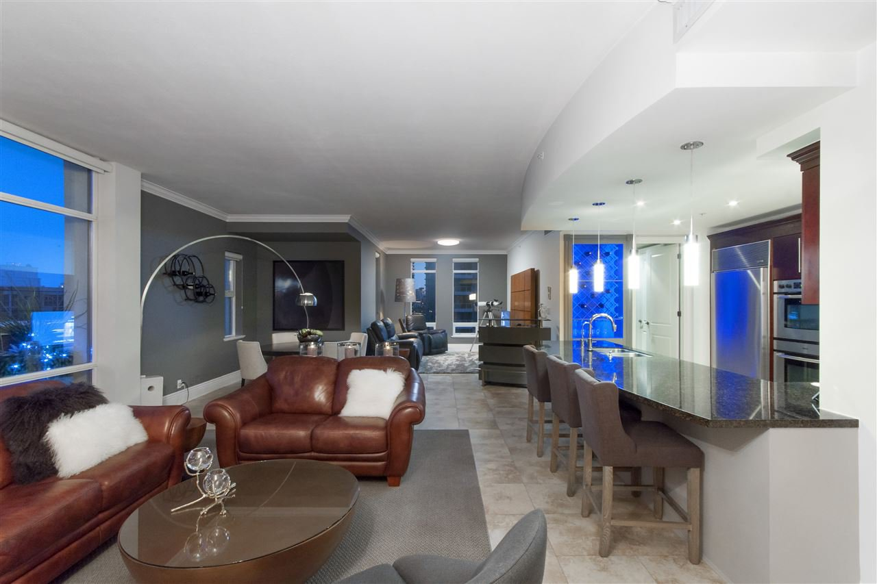 """Photo 11: Photos: 1101 1280 RICHARDS Street in Vancouver: Yaletown Condo for sale in """"THE GRACE"""" (Vancouver West)  : MLS®# R2191655"""