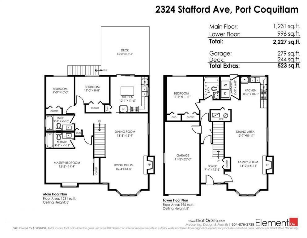 Photo 20: Photos: 2324 STAFFORD Avenue in Port Coquitlam: Mary Hill House for sale : MLS®# R2234789