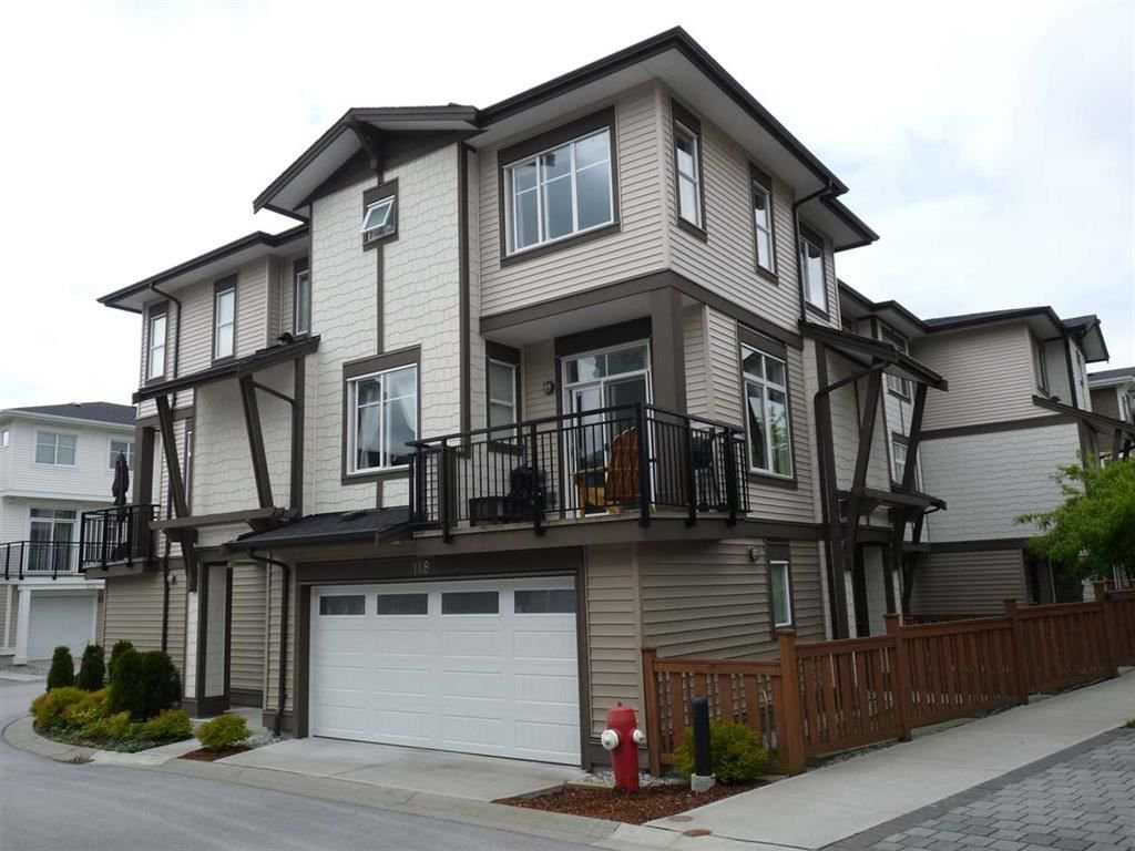"Main Photo: 118 19433 68 Avenue in Surrey: Clayton Townhouse for sale in ""THE GROVE"" (Cloverdale)  : MLS®# R2309717"