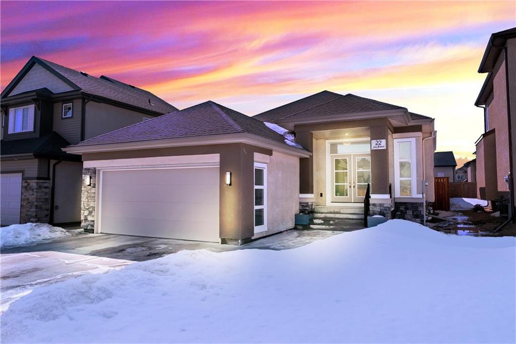 Main Photo: 22 John Pelland Road in Winnipeg: Sage Creek Residential for sale (2K)  : MLS®# 202005964