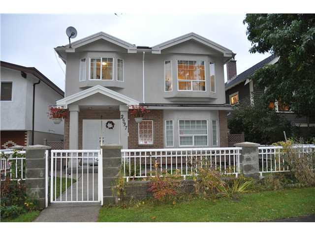 Main Photo: 2537 PANDORA Street in Vancouver: Hastings East House for sale (Vancouver East)  : MLS®# V916730