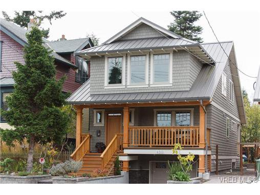 Main Photo: 450 Moss Street in VICTORIA: Vi Fairfield West Single Family Detached for sale (Victoria)  : MLS®# 346428