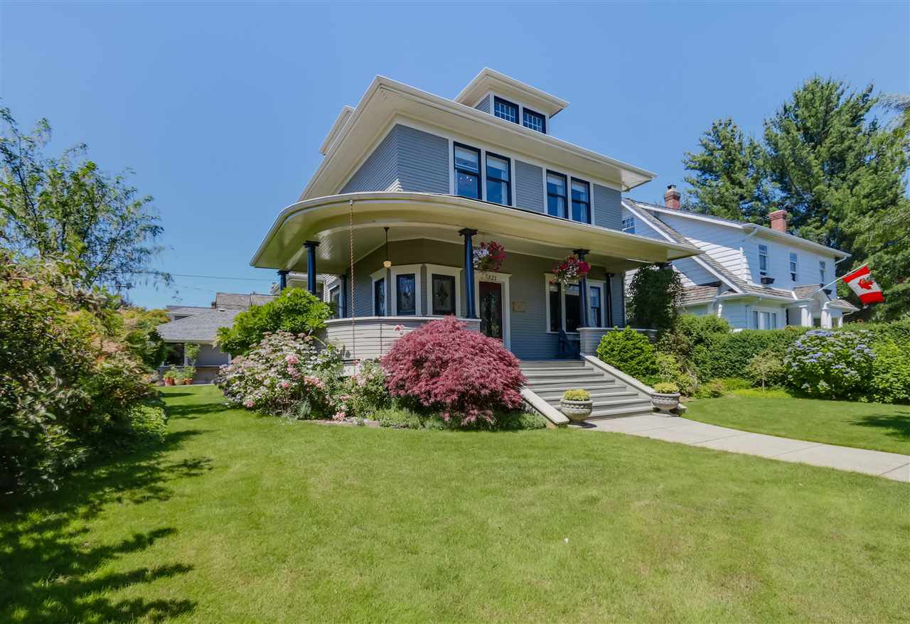 """Main Photo: 321 FOURTH Avenue in New Westminster: Queens Park House for sale in """"Queens Park"""" : MLS®# R2087945"""