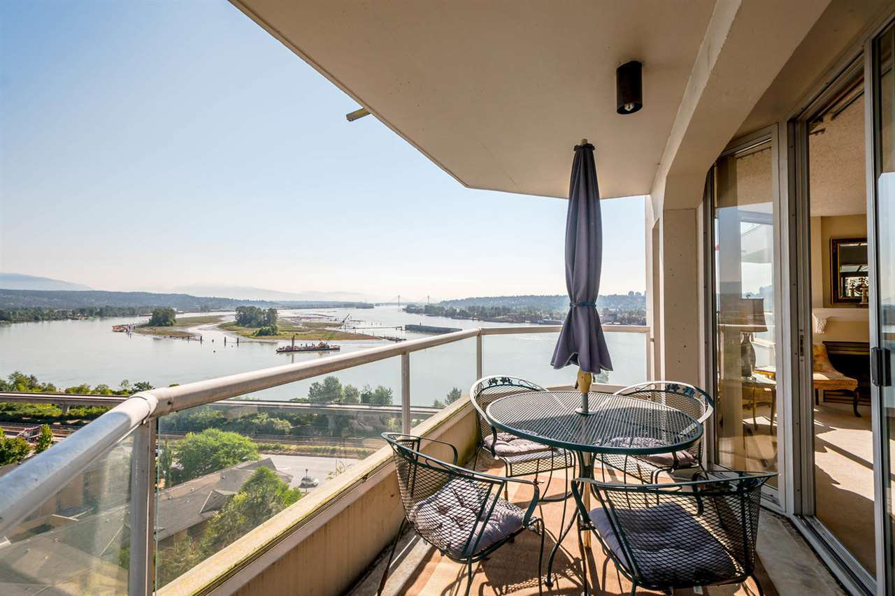 """Main Photo: 1202 69 JAMIESON Court in New Westminster: Fraserview NW Condo for sale in """"PALACE QUAY"""" : MLS®# R2279582"""