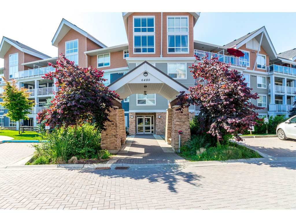 "Main Photo: 211 6480 194 Street in Surrey: Clayton Condo for sale in ""Waterstone"" (Cloverdale)  : MLS®# R2281179"