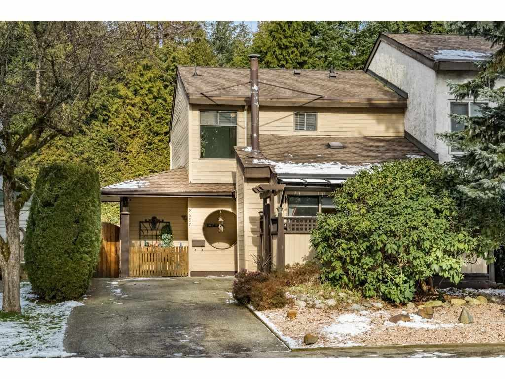 Main Photo: 2587 BURIAN Drive in Coquitlam: Coquitlam East House 1/2 Duplex for sale : MLS®# R2338888