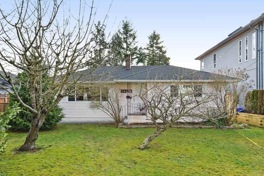 Main Photo: 14436 17 Avenue in Surrey: Sunnyside Park Surrey House for sale (South Surrey White Rock)  : MLS®# R2373739