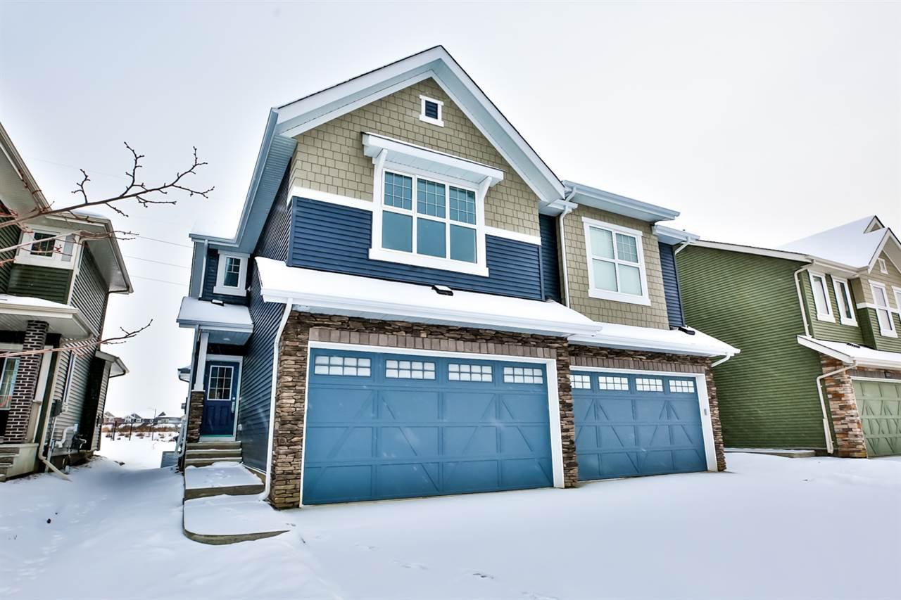 Main Photo: 12837 205 Street in Edmonton: Zone 59 House Half Duplex for sale : MLS®# E4182726