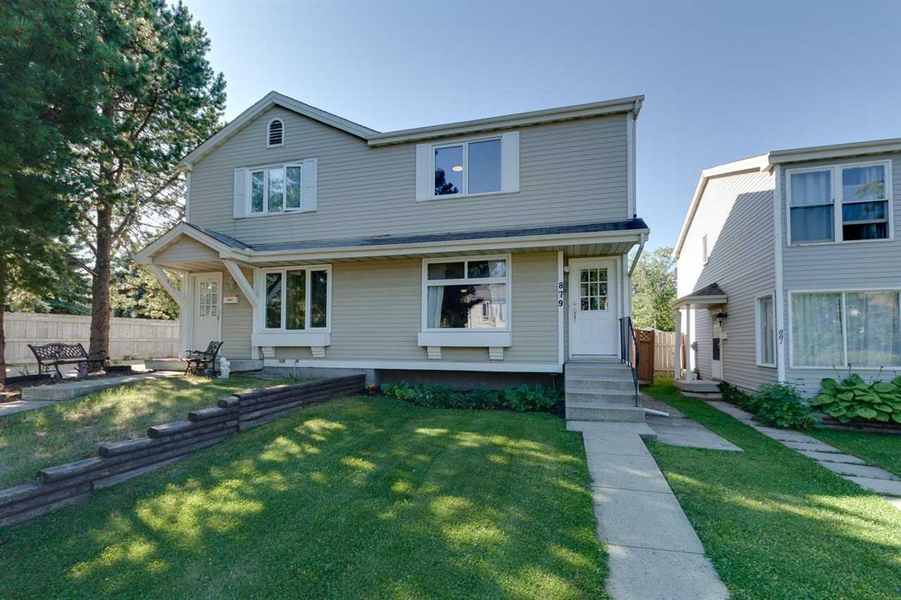 Main Photo: 879 VILLAGE Mews: Sherwood Park House Half Duplex for sale : MLS®# E4208076