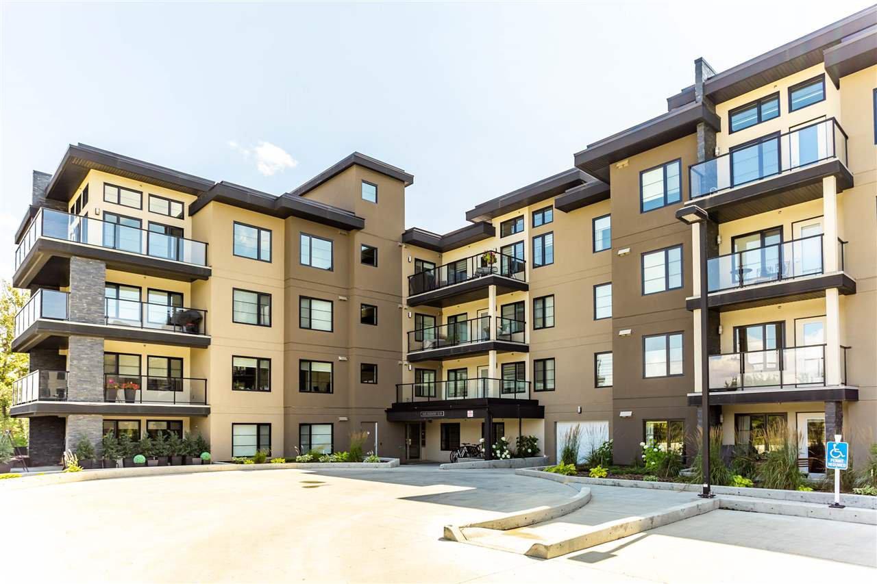 Main Photo: 110 5025 EDGEMONT Boulevard in Edmonton: Zone 57 Condo for sale : MLS®# E4210454