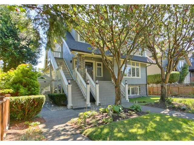 """Main Photo: 3450 W 3RD Avenue in Vancouver: Kitsilano Townhouse for sale in """"COLLINGWOOD MANOR"""" (Vancouver West)  : MLS®# V924454"""