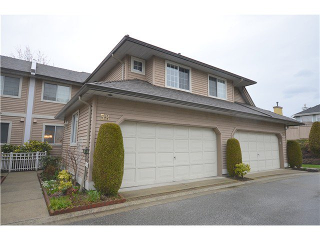 "Main Photo: 58 2615 FORTRESS Drive in Port Coquitlam: Citadel PQ Townhouse for sale in ""ORCHARD HILL"" : MLS®# V1054893"
