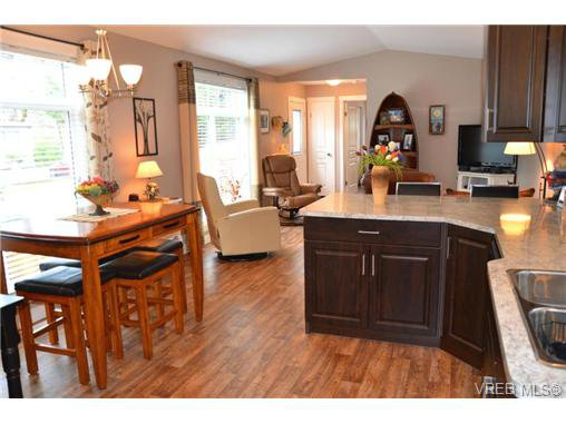 Main Photo: 46 2780 Spencer Road in VICTORIA: La Goldstream Manu Single-Wide for sale (Langford)  : MLS®# 349043