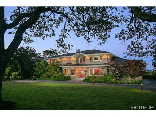 Main Photo: 3435 Upper Terrace Rd in VICTORIA: OB Uplands House for sale (Oak Bay)  : MLS®# 706901