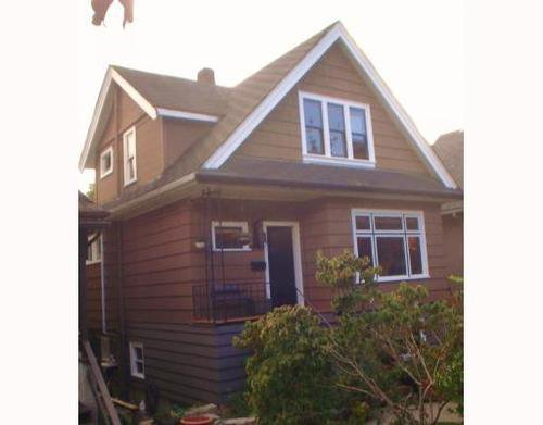 Main Photo: 742 11TH Ave in Vancouver East: Mount Pleasant VE Home for sale ()  : MLS®# V791172