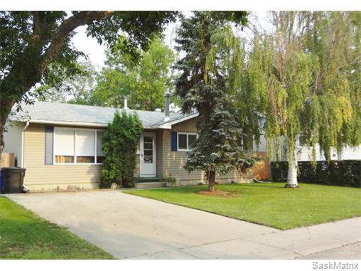 Main Photo: 134 Vanier Crescent in Saskatoon: Single Family Dwelling for sale : MLS®# 549522