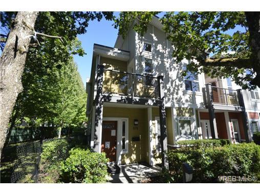 Main Photo: 878 Brock Avenue in VICTORIA: La Langford Proper Townhouse for sale (Langford)  : MLS®# 370068