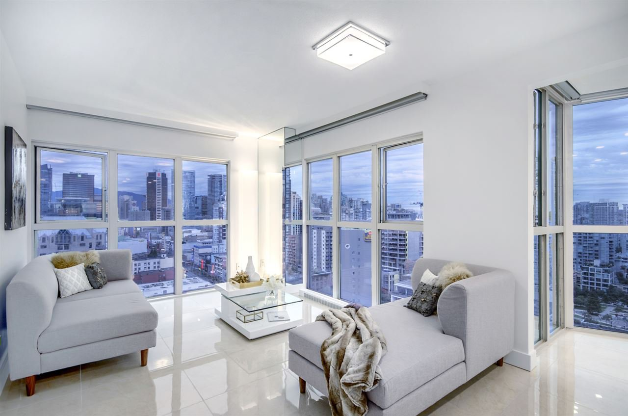 """Main Photo: 1907 1188 HOWE Street in Vancouver: Downtown VW Condo for sale in """"1188 Howe"""" (Vancouver West)  : MLS®# R2125945"""