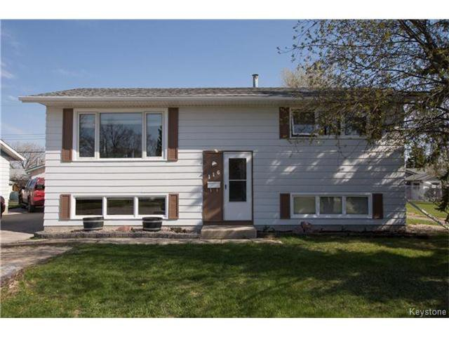 Main Photo: 116 Howden Road in Winnipeg: Windsor Park Residential for sale (2G)  : MLS®# 1711168