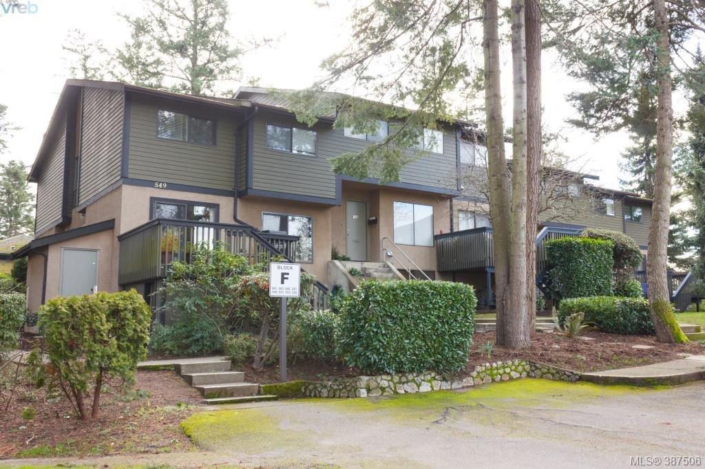 Main Photo: 545 Crossandra Crescent in VICTORIA: SW Tillicum Townhouse for sale (Saanich West)  : MLS®# 387506