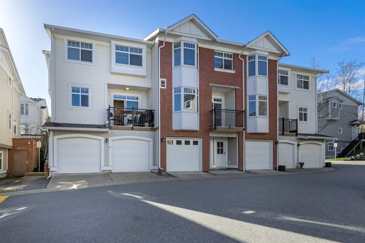 "Main Photo: 73 19551 66 Avenue in Surrey: Clayton Townhouse for sale in ""Manhattan Sky"" (Cloverdale)  : MLS®# R2256431"