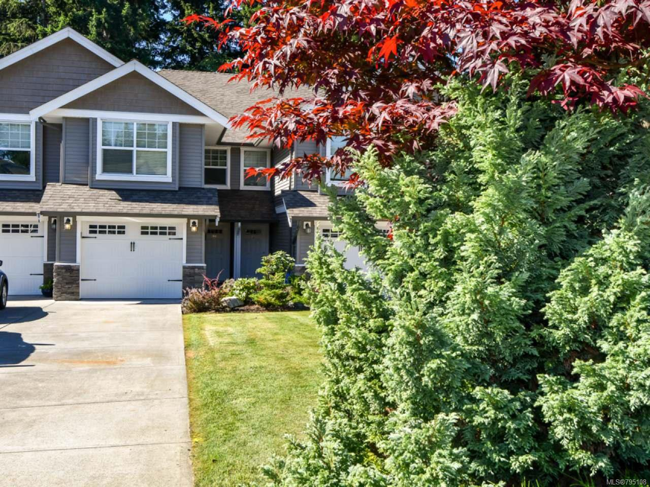 Main Photo: 7 1330 Creekside Way in CAMPBELL RIVER: CR Willow Point Half Duplex for sale (Campbell River)  : MLS®# 795108