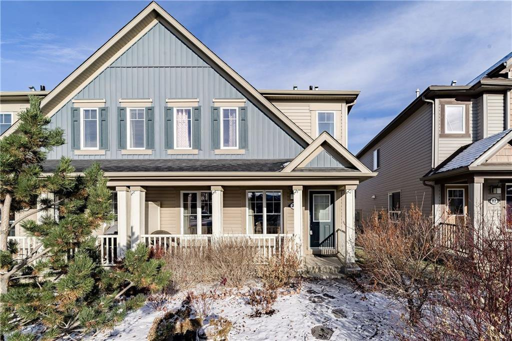 Main Photo: 78 WINDSTONE Lane SW: Airdrie Semi Detached for sale : MLS®# C4215748
