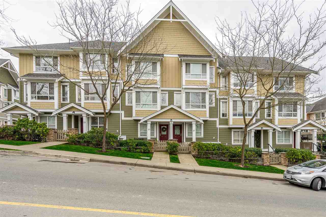 """Main Photo: 23 20159 68 Avenue in Langley: Willoughby Heights Townhouse for sale in """"Vantage"""" : MLS®# R2356318"""