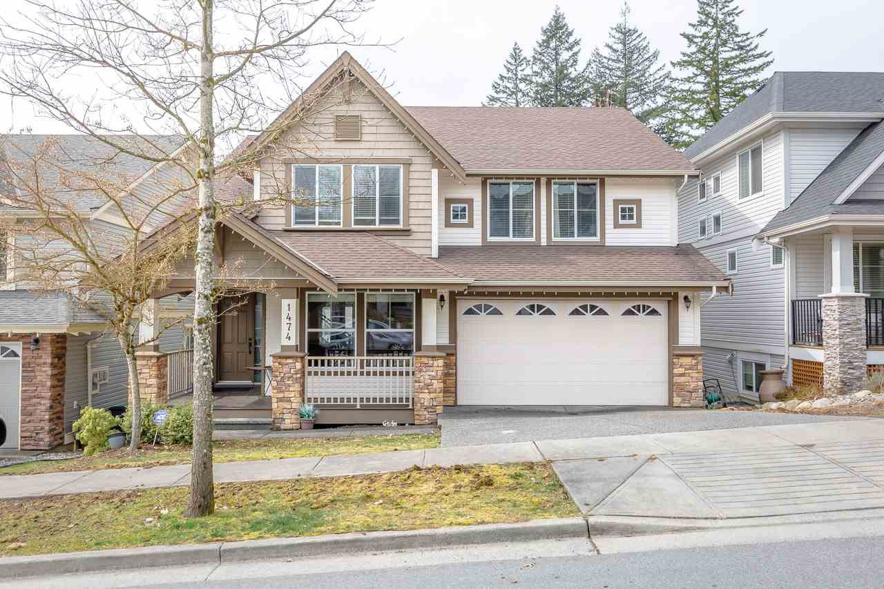 "Main Photo: 1474 AVONDALE Street in Coquitlam: Burke Mountain House for sale in ""BELMONT"" : MLS®# R2382400"