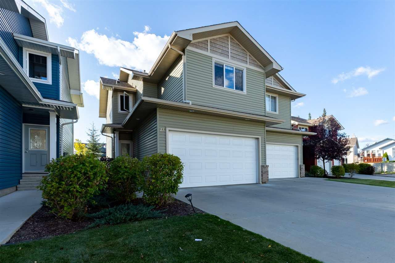 Main Photo: 13 735 85 Street in Edmonton: Zone 53 House Half Duplex for sale : MLS®# E4174595