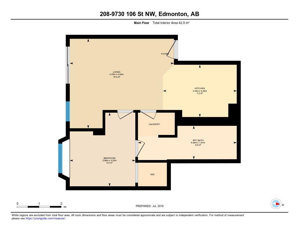 Main Photo: 208 9730 106 Street in Edmonton: Zone 12 Condo for sale : MLS®# E4181189