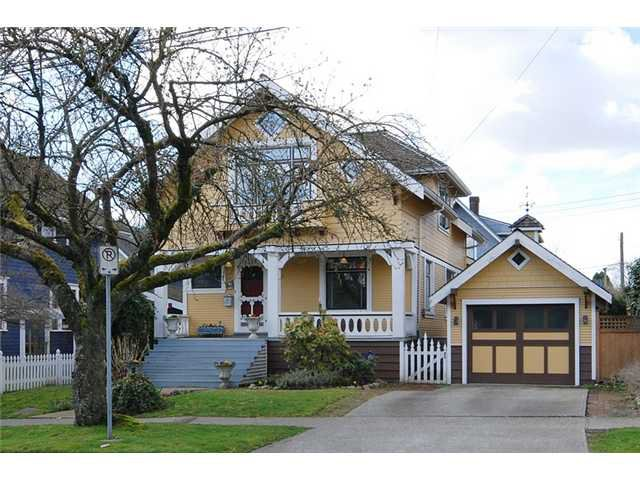 Main Photo: 326 3RD Street in New Westminster: Queens Park House for sale : MLS®# V882156