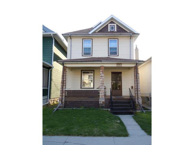 Main Photo: 490 Newman Street in WINNIPEG: West End / Wolseley Residential for sale (West Winnipeg)  : MLS®# 1109437