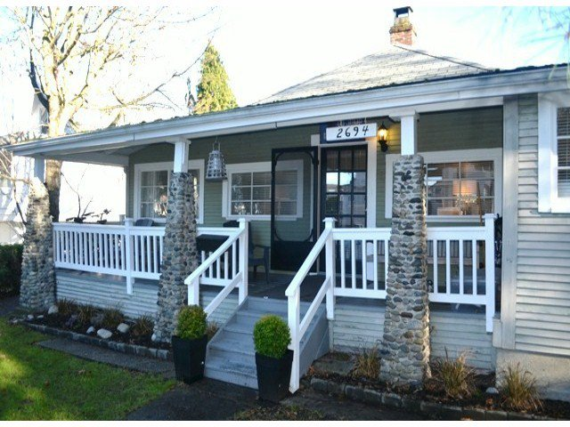 "Main Photo: 2694 MCBRIDE Avenue in Surrey: Crescent Bch Ocean Pk. House for sale in ""CRESCENT BEACH"" (South Surrey White Rock)  : MLS®# F1427486"