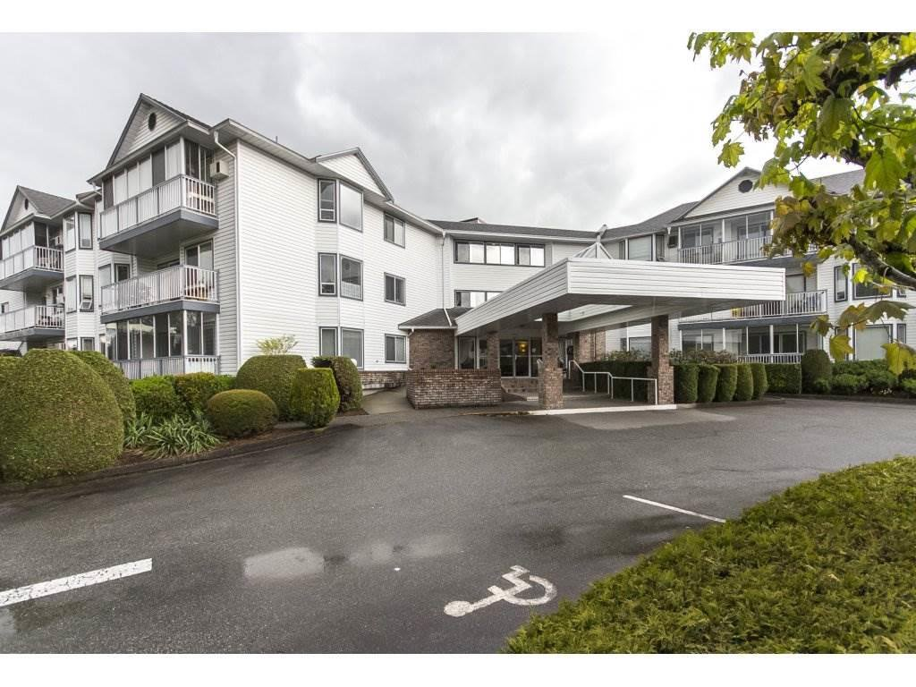 """Main Photo: 202 2425 CHURCH Street in Abbotsford: Abbotsford West Condo for sale in """"PARKVIEW PLACE"""" : MLS®# R2171357"""
