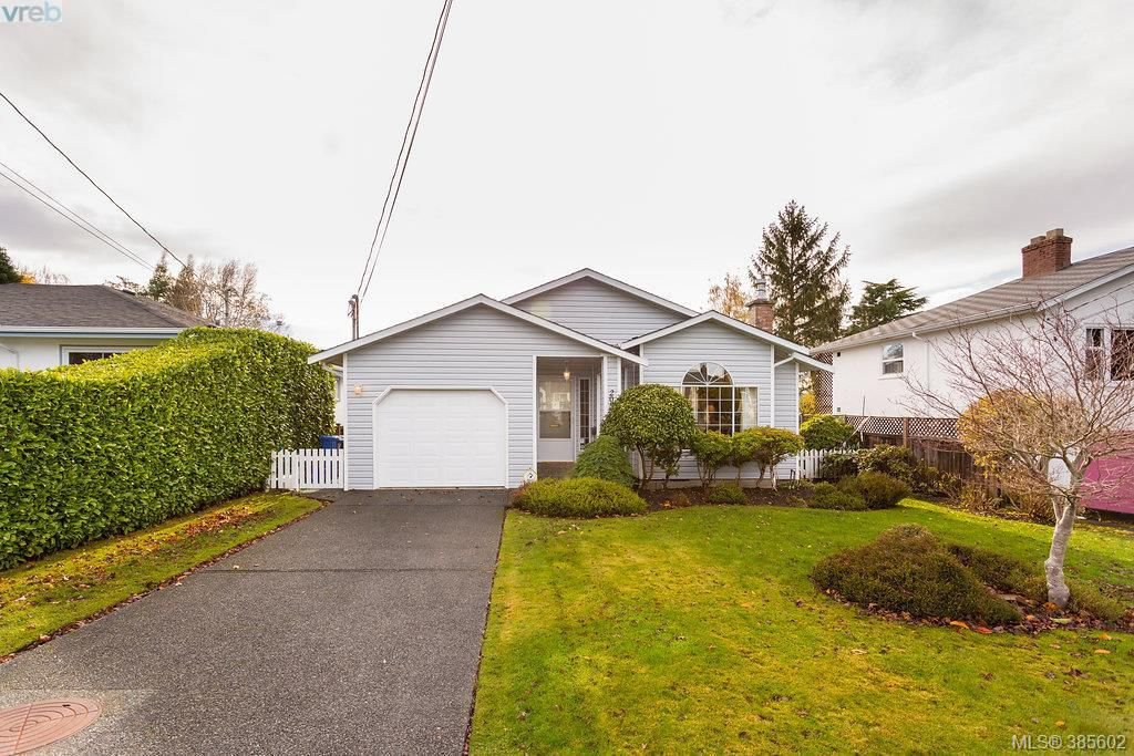 Main Photo: 2057 Kings Road in VICTORIA: OB Henderson Single Family Detached for sale (Oak Bay)  : MLS®# 385602
