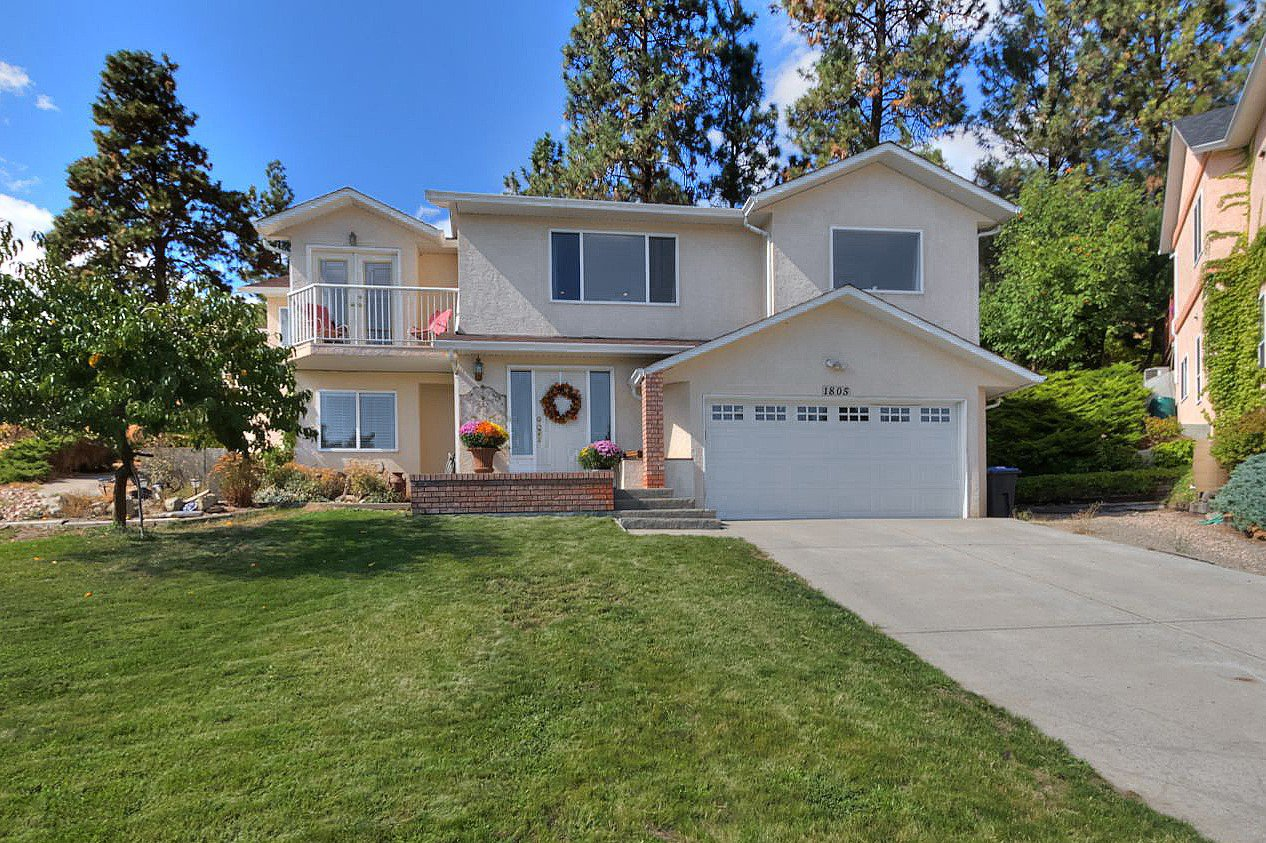 Main Photo: 1805 Edgehill Court in Kelowna: North Glenmore House for sale (Central Okanagan)  : MLS®# 10142069