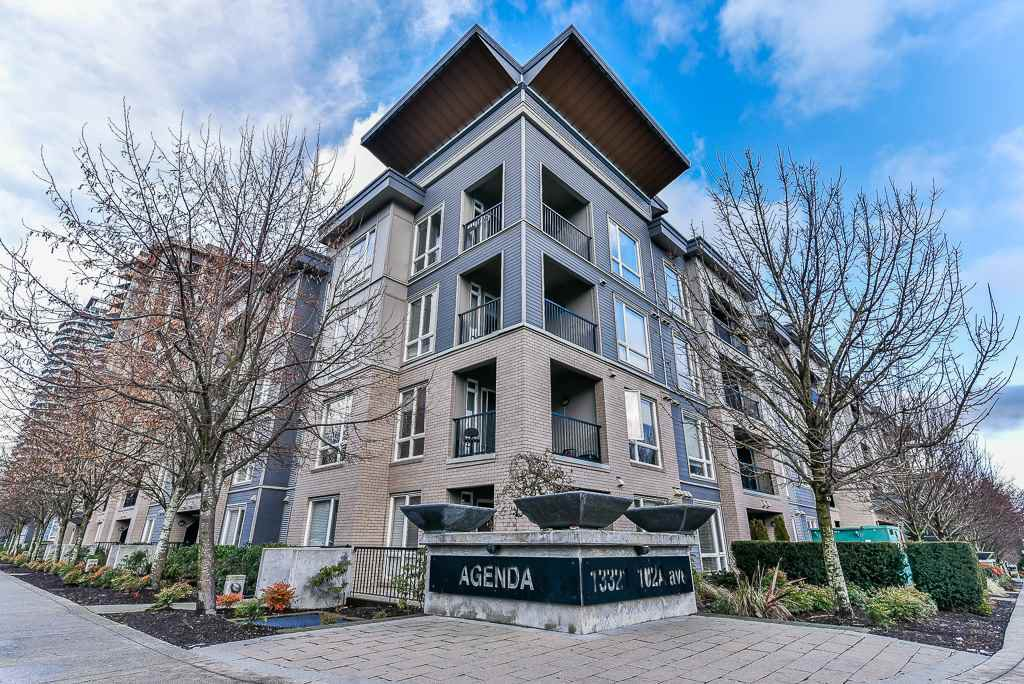 "Main Photo: 435 13321 102A Avenue in Surrey: Whalley Condo for sale in ""AGENDA"" (North Surrey)  : MLS®# R2231206"