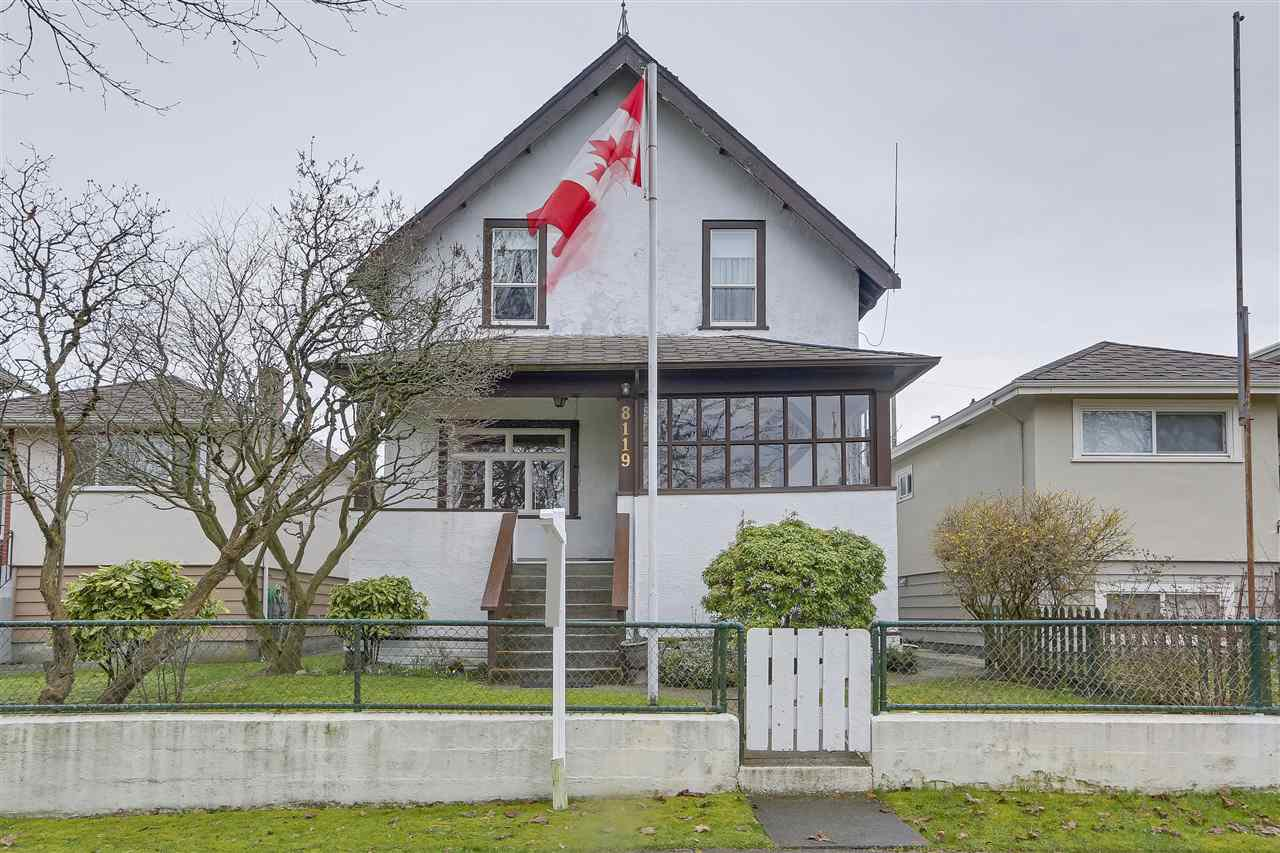 Main Photo: 8119 HUDSON Street in Vancouver: Marpole House for sale (Vancouver West)  : MLS®# R2247797