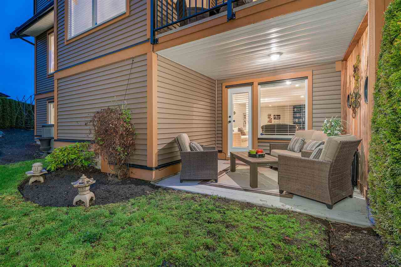 "Photo 19: Photos: 75 24185 106B Avenue in Maple Ridge: Albion Townhouse for sale in ""TRAILS EDGE"" : MLS®# R2258107"