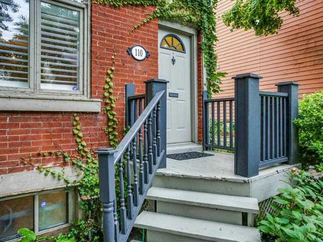 Photo 2: Photos: 110 Hamilton Street in Toronto: South Riverdale House (2-Storey) for sale (Toronto E01)  : MLS®# E4265547