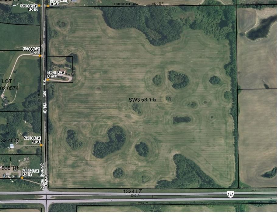 Main Photo: 53001 RANGE ROAD 13: Rural Parkland County Rural Land/Vacant Lot for sale : MLS®# E4144728