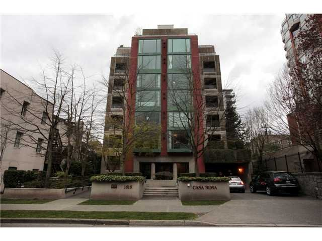 Main Photo: #501-1818 Robson St in Vancouver: West End VW Condo for sale (Vancouver West)  : MLS®# V943126