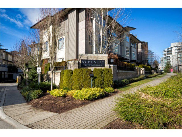 Main Photo: 45 9229 UNIVERSITY Crest in Burnaby: Simon Fraser Univer. Condo for sale (Burnaby North)  : MLS®# V991611