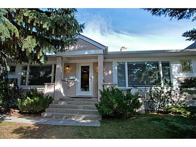 Main Photo: 2414 Morrison Street SW in CALGARY: Mount Royal Residential Detached Single Family for sale (Calgary)  : MLS®# C3586874