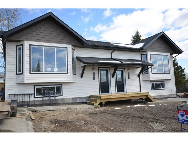 Main Photo: 9703 94TH Street in Fort St. John: Fort St. John - City SE House 1/2 Duplex for sale (Fort St. John (Zone 60))  : MLS®# N244734