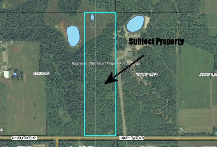 "Main Photo: 15040 CHIEF LAKE Road in PRINCE GRG: Nukko Lake Land for sale in ""CHIEF LAKE ROAD"" (PG Rural North (Zone 76))  : MLS®# R2011408"