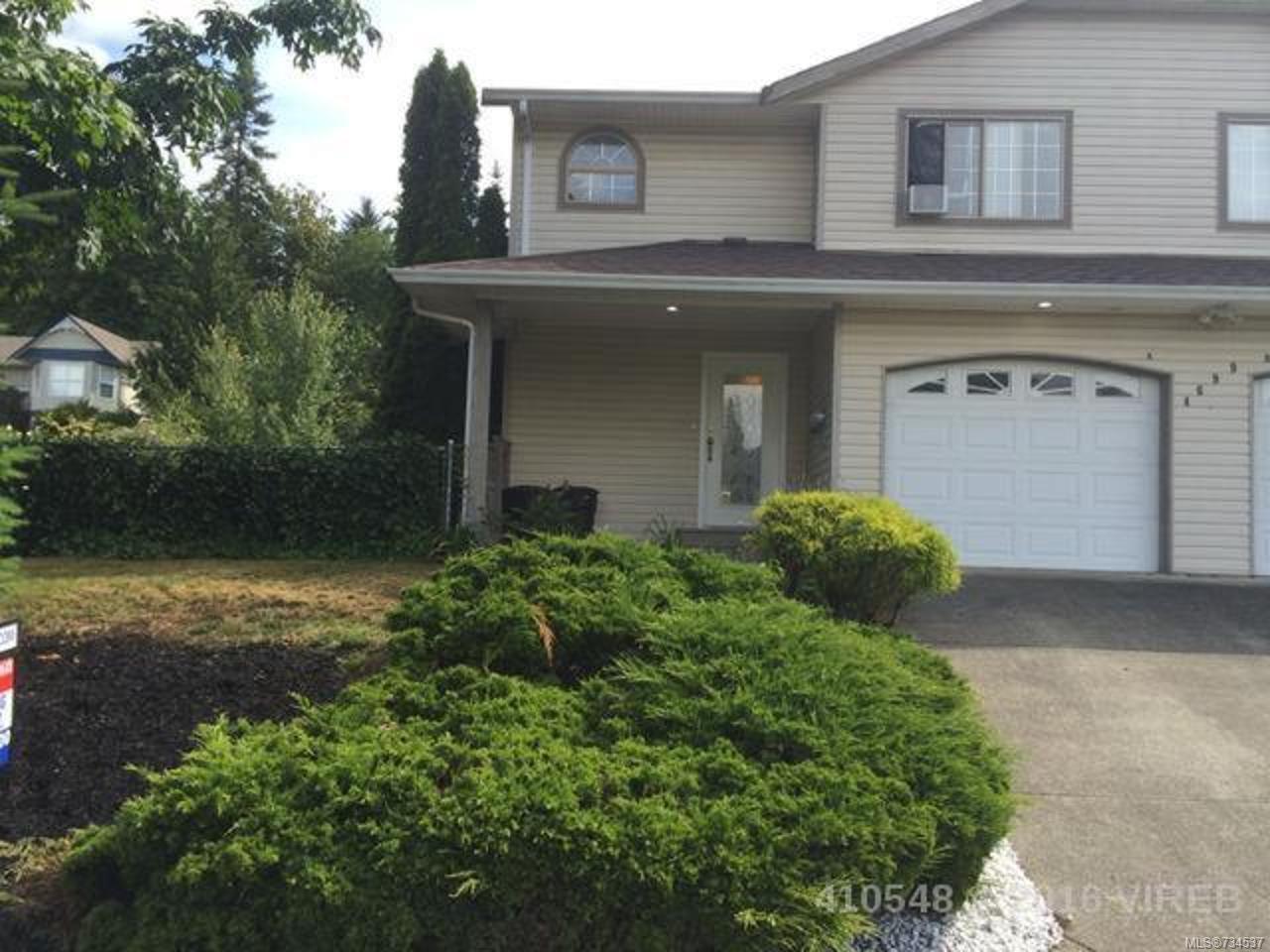 Main Photo: A 4699 SHETLAND PLACE in COURTENAY: CV Courtenay East Half Duplex for sale (Comox Valley)  : MLS®# 734537