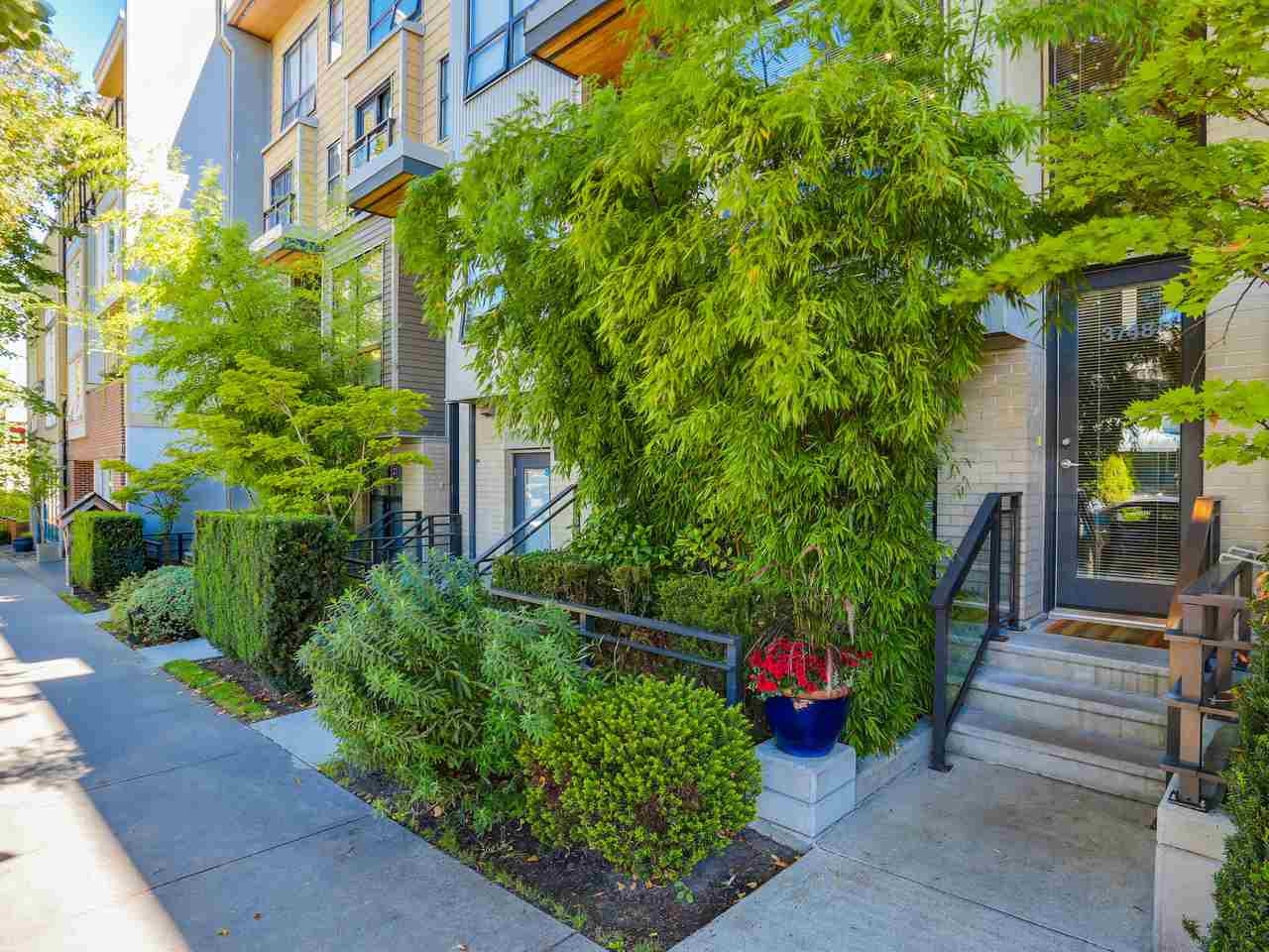 "Main Photo: 3748 COMMERCIAL Street in Vancouver: Victoria VE Townhouse for sale in ""BRIX 1"" (Vancouver East)  : MLS®# R2107827"